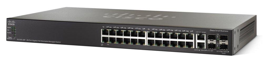 Switches-SG500-28P-28-Port-Gigabit-POE_frnt_rt-1000